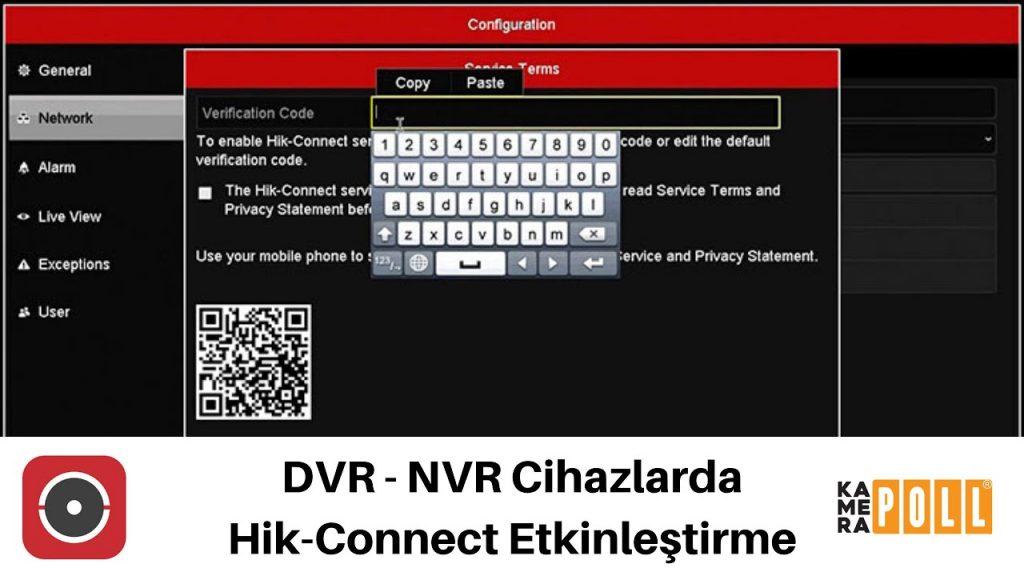 Hik-Connect Etkinleştirme | DVR ve NVR Cihazlarda Platform Ayarı Nasıl Y…