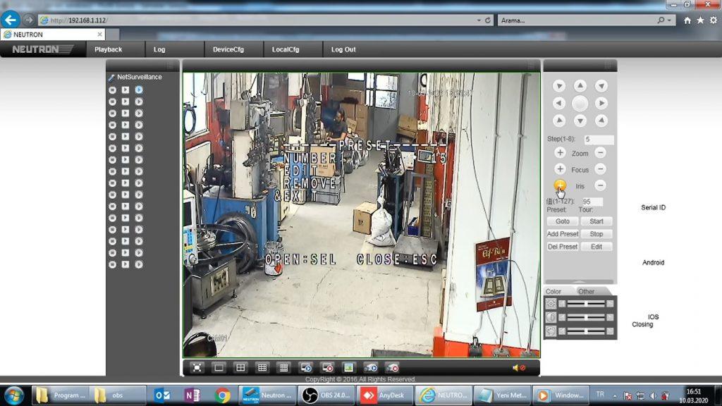 Laleli Güvenlik Kamera Sistemi Teknik Servisi